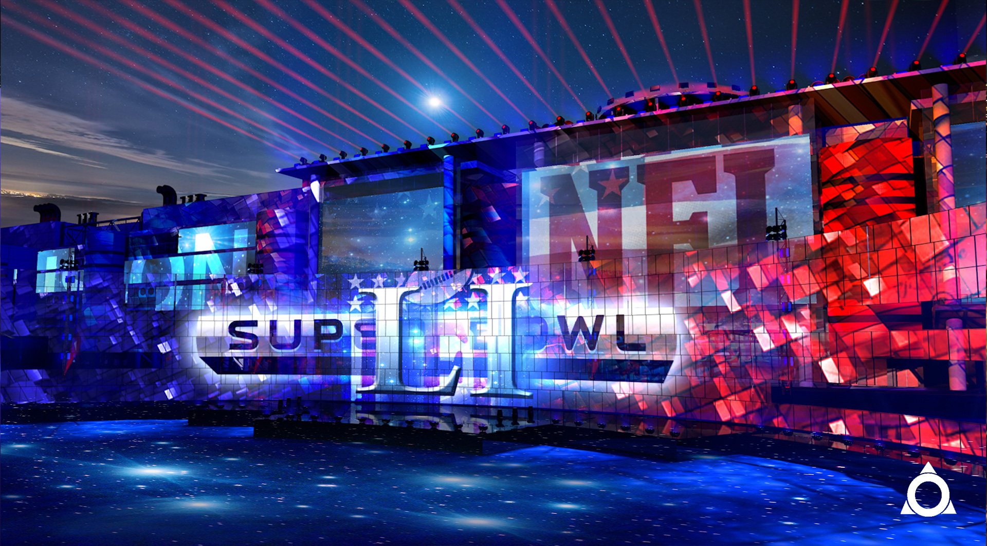 NFL Superball 2017 concept